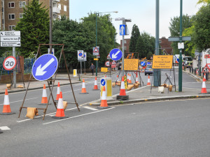 Street Construction Signs